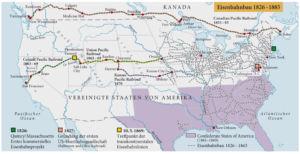 Eisenbahnbau 1826-1885