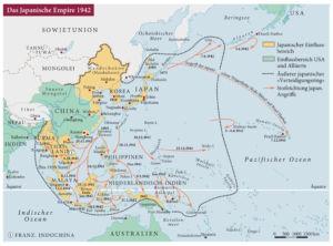 Das Japanische Reich 1942