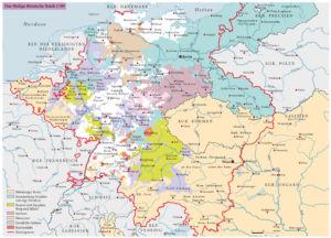 Das Heilige Römische Reich 1789