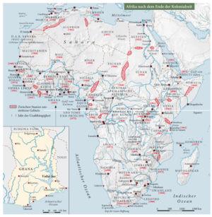 Afrika nach dem Ende der Kolonialzeit