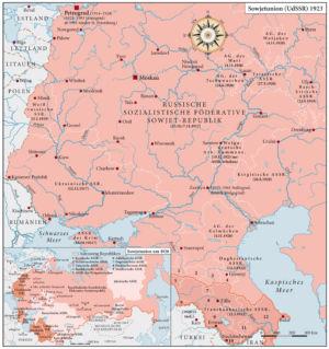 Sowjetunion (UdSSR) 1923