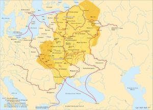 Wikinger Gründung sowie Handelsrouten