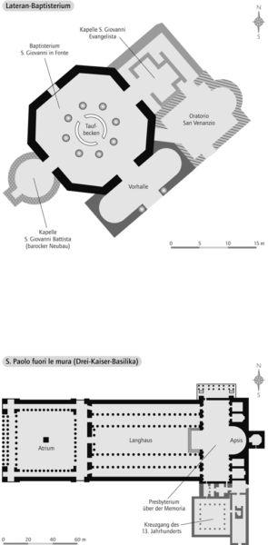 Lateran-Baptisterium / Drei-Kaiser-Basilika