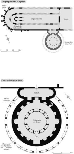Umgangsbasilika S. Agnese / Constantina Mausoleum