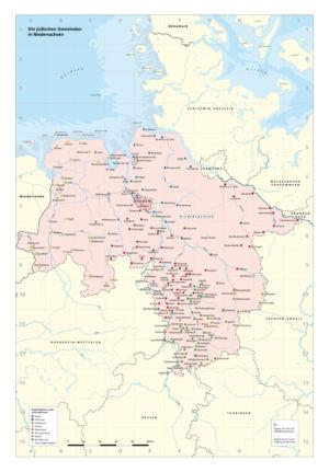 Die jüdischen Gemeinden in Niedersachsen