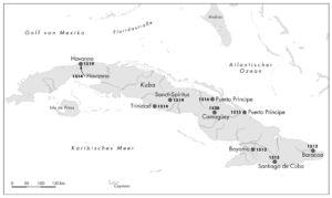 Kuba sieben Städte