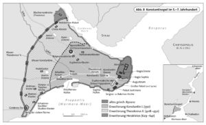 Konstantinopel im 5.–7. Jahrhundert