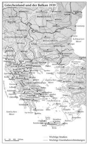 Griechenland und der Balkan 1939