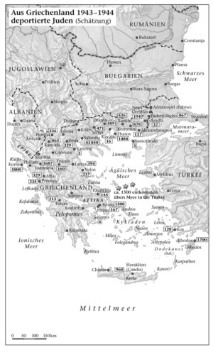 Deportation der Juden in Griechenland 1943/44