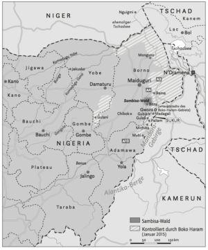 The north of Nigeria