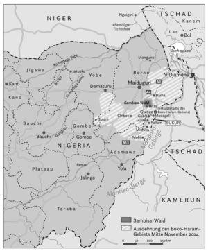 The north of Nigeria 2014