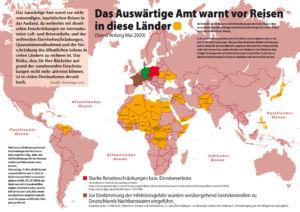 Reisewarnungen ins Ausland