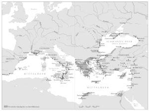 Griechisches Sprachgebiet vor dem Hellenismus