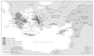 Griechen 800 vor Christus