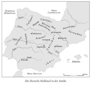 Die Iberische Halbinsel in der Antike