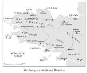 Die Bretagne in Antike und Mittelalter