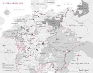 Mitteleuropa 1618