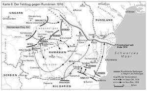 Feldzug gegen Rumänien 1916