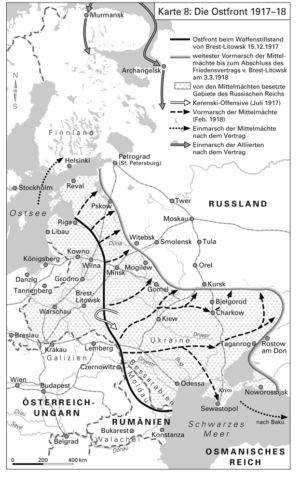 Die Ostfront 1917-18