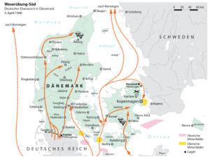 Weserübung-Süd Deutscher Einmarsch in Dänemark