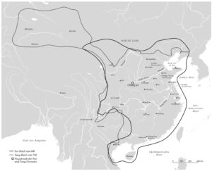 Tang and Sui empires