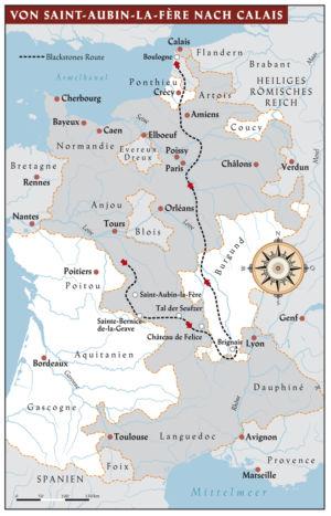 From Saint-Aubin-La-Fère to Calais